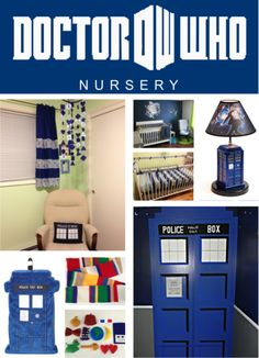 DIY Doctor Who Nursery Parenting: you're doing it right.