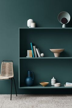 Jotun Lady just came out with their new color chart for 2020 and it makes me want to paint all the surfaces in my apartment in those subtile, yet deep tints. I'm really falling for that Local green wall color … Continue reading → Wall Paint Colors, Bedroom Wall Colors, Wall Colours, Velvet Green Couch, Deco Tv, Jotun Lady, Green Wall Color, Interior Paint, Interior Design