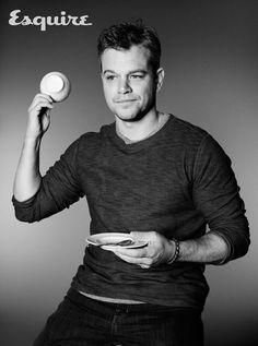 Matt Damon, Somewhere in Germany - Esquire