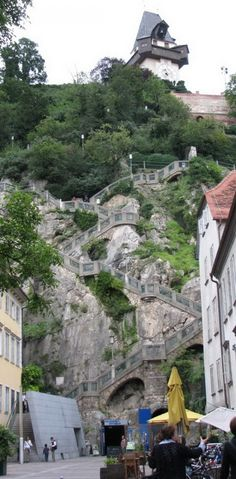 9. Escaleras Schlossberg, Austria