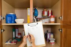 Shopping List and Food Pantry