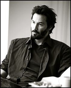 Keanu Reeves ~ you seem so bored without me there with you.