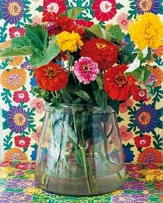 Florals on Floral. Hummingbird blog