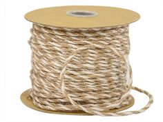 White & Natural Jute Twine adds an earthy feel to packaging. Use it to wrap around favor and coffee bags. Then try adding some berries and pine to finish it off. This will create simple natural elegance.