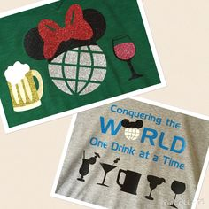 Epcot Food and Wine Festival shirts