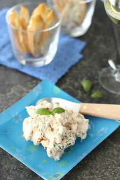 Sun-Dried Tomato  Basil Cream Cheese Spread Recipe | cookincanuck.com