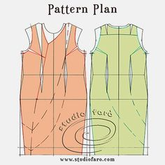 well-suited: Pattern Puzzle - The Drape Shift Woven