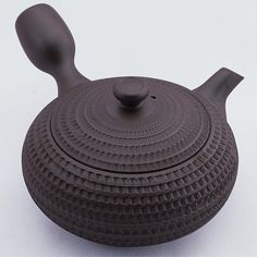 Banko-yaki kyûsu teapot with basket motifs by Tachi Masaki, 160 ml (5.4 oz) [ACC-23-019-POT] - USD $93.33 : Teas of Japan
