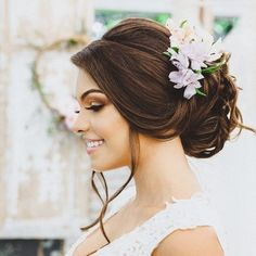 How To Make Hair, Wedding Makeup, Bridal Hair, Marie, Wedding Hairstyles, Hair Beauty, Coral, Lily, Poses