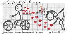 This Pin was discovered by Roy Cute Embroidery, Cross Stitch Embroidery, Embroidery Patterns, Cross Stitch Patterns, Needlepoint Designs, Cross Stitch Heart, Knitting Charts, Christmas Cross, Cross Stitching