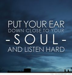 Listen to your soul #meditation #loveyourself #incredible #yoga #justlovelife