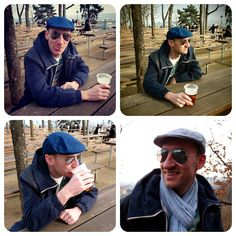 Spring with flatcap