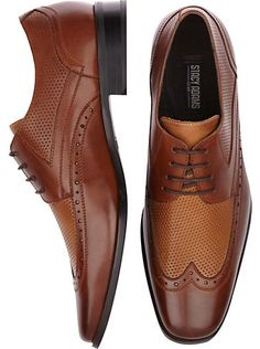 Just Arrived: Stacy Adams wingtips, perfect casual crossover #shoe for spring.