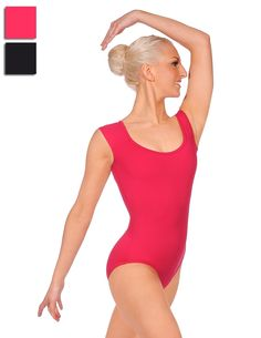 Mirella M5016 Lattice Back Cap Sleeve Leotard