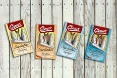 Comur Canned Fish on Packaging of the World - Creative Package Design Gallery