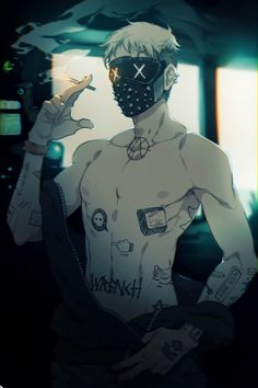 Wrench x Reader (Watch Dogs You needed a job and got on Fantasy Character Design, Character Inspiration, Character Art, Wrench Watch Dogs 2, Fantasy Characters, Anime Characters, Mago Anime, Theme Tattoo, Dog Mask