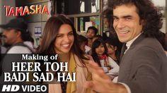 'Heer Toh Badi Sad Hai' Backstage VIDEO | Tamasha | Deepika Padukone | T...