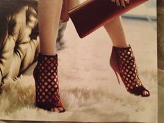 Jimmy Choo...In Style magazine (August 2013 issue)