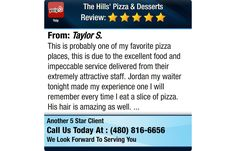 This is probably one of my favorite pizza places, this is due to the excellent food and...