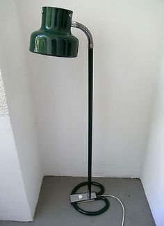 Anders Pehrson Bumling Stehlampe grün floor lamp Atelje Lyktan Sweden 60er