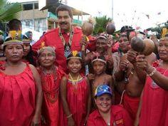 Que lo vea el Mundo cómo brilla la luz de pueblo de Simón Bolívar.