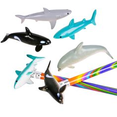 - Soft plastic animals - Make your pencil stand out in the crowd! - Great party favor - Sold individually - Topper does not interfere with erasing WARNING: CHOKING HAZARD -- Small Parts. Not for child