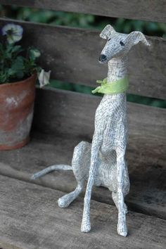 Too cute! Lorraine Corrigan sculpture