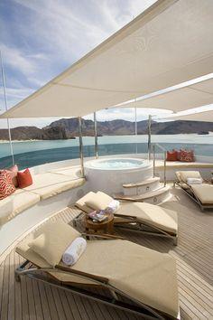 Motor Yacht Slojo, George Town CI. Tom Stringer Design Partners.