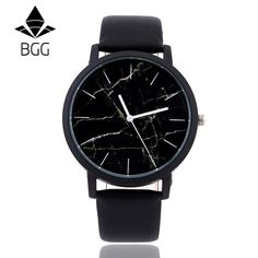4.54$ (More info here: http://www.daitingtoday.com/british-style-marble-watches-2016-hot-fashion-marbling-stripe-creative-quartz-watch-men-women-wristwatches-genuine-leather-clock ) British style Marble Watches 2016 Hot Fashion Marbling Stripe Creative Quartz Watch Men Women Wristwatches Genuine Leather Clock for just 4.54$