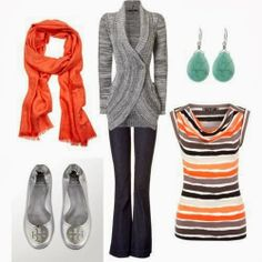 Business casual. Covers the shoulders not too tight. Won't make the clients feel uncomfortable