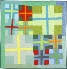 Double Cross quilt pattern