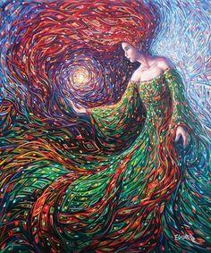Фантастические искусство. Живопись Eduardo Rodriguez Calzado. | Оригинальное творчество талантливых и увлеченных людей