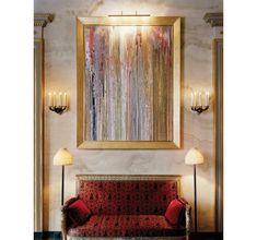 Le dernier projet prive de Jacques Garcia I like contemporary art with traditional furniture.