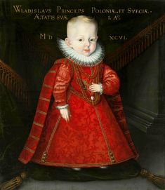 Portrait of Prince Ladislaus Vasa by Martin Kober, 1596 (PD-art/old), Monasterio de las Descalzas Reales