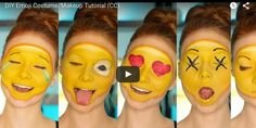 """Not sure what to be for Halloween yet? Why not be an emoji? YouTuber Madeyewlook aka Alexys Fleming aka """"Lex"""" is a 22-year-old licensed esthetician and seriously talented makeup artist. Her newest tutorial is blowing up the internet, with more than 124k views on YouTube so far. It makes sense — who doesn't love emojis?!"""