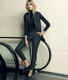 GLORIOUSmagazine-Julia Stegner for Mango in FW 2013/2014 Campaign
