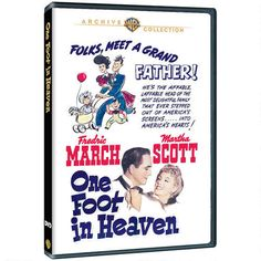 One Foot in Heaven (1941) Great cast & wonderful film, so happy it's gotten its deserved release... now if only my other favorite March titles would get their release too, There Goes My Heart (1938) & Bedtime Story (1941).