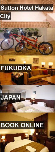 Hotel Sutton Hotel Hakata City in Fukuoka, Japan. For more information, photos, reviews and best prices please follow the link. #Japan #Fukuoka #SuttonHotelHakataCity #hotel #travel #vacation