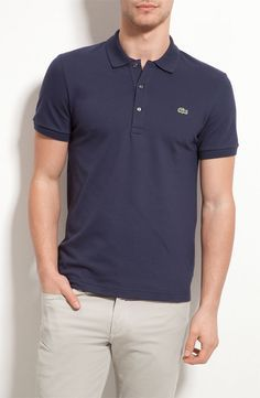 Classic (ie I'll-throw-this-on-if-I-dont-wanna-think) Lacoste Pique Stretch Polo