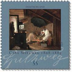 Carl-Spitzweg-Briefmarke-2008