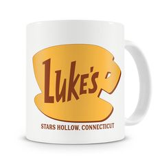 Because what would be better than sitting drinking coffee from a Luke's dinner mug and watching Gilmore Girls.