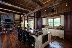 Hill Mountain Home Kitchen Photos House Plans And Mountain Homes