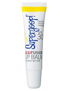 ® 'AcaiFusion' Lip Balm SPF 30 available at This smells good and works great. It's got the same texture as Smith's Rose Balm but it has SPF to protect your lips in the sun. Spf Lip Balm, Best Lip Balm, Lip Balms, Jet Set, Lip Hydration, Make Me Up, Summer Beauty, Lip Care, Smell Good