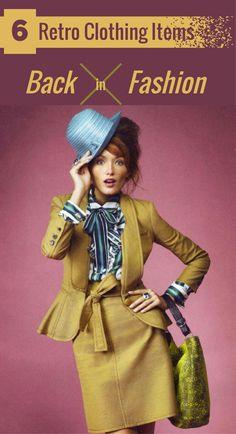 6 Retro Clothing Items Back In Fashion
