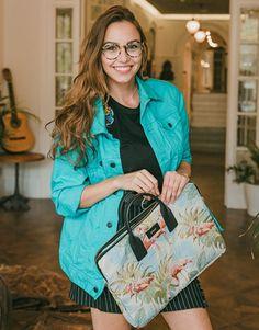 Funda-maletín-portátil-flamencos-4 Unisex, Hermes Birkin, Street Style, Fashion, Notebook Covers, Flamingos, Moda, Urban Style, Fashion Styles