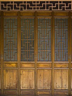 Doors Of The Emerald Hill Pavilion...      by anadelmann via Flickr