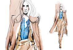 Fashion Illustration & Textiles | Sabine Pieper