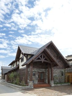 Timber Frame House, Toyama, Japan | Moore Log & Timber Homes