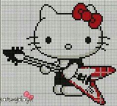 Hello Kitty Guitarra