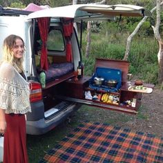 the best designs of vans for camping and adventure in the woods and snow - Camper Life Mini Camper, Camper Life, Truck Camper, T4 Camper, Best Travel Trailers, Travel Trailer Camping, Auto Camping, Truck Bed Camping, Minivan Camping
